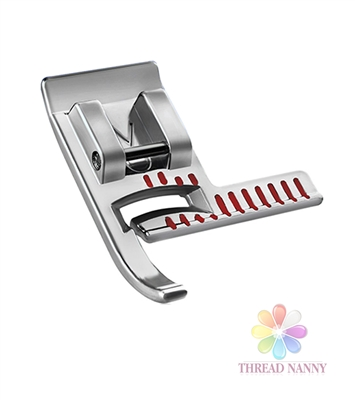 Stitch Guide Presser Foot for Sewing Machines by ThreadNanny