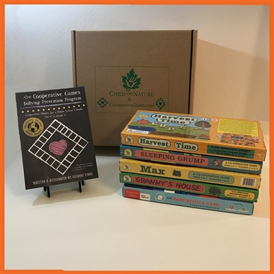 The Cooperative Games Bullying Prevention Program: Teaching Manual + 4 Board Game Set