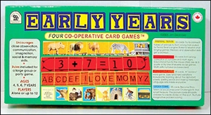 Early Years educational cooperative game set from family pastimes