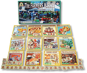 Farmer's Market cooperative game teaches business skills and healthy food