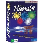 Hanabi Deluxe Cooperative Game brings players together to make a fireworks display!