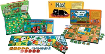 Set of Four Games for Cooperative Games Bullying Prevention Program