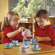Tea Time with Green Toys Tea Set