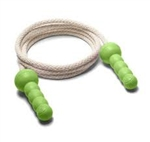 Cotton Jump Rope with Recycled Plastic Handles made in the United States