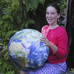 Earth Ball is a photorealistic image of Earth as well as a great toy!