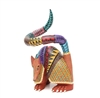 Armone the Amorous Armadillo from Amarillo - Genuine Mexican Alebrije for Sale