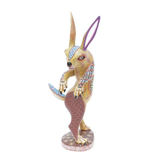 Pedro the Cunning Hare - Genuine Mexican Art Work for Sale