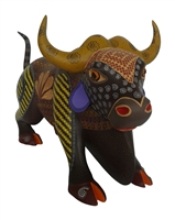Brown Bull - Genuine Oaxacan Alebrije for Sale