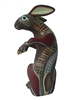 Brown Rabbit - Genuine Oaxacan Alebrije for Sale