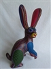 Blackberry the Jackrabbit  Genuine Oaxacan Alebrije for Sale