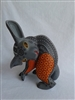 Reticent the Rabbit Genuine Oaxacan Alebrije for Sale