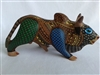 Bushwacker the Bantam Bull  Genuine Oaxacan Alebrije for Sale