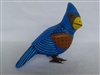 Blue Cardinal Genuine Oaxacan Alebrije for Sale