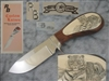 Ray Beers Scrimshaw Hunting Knife