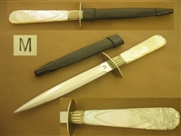 MORROW MOP DAGGER, STILETTO KNIFE   SOLD