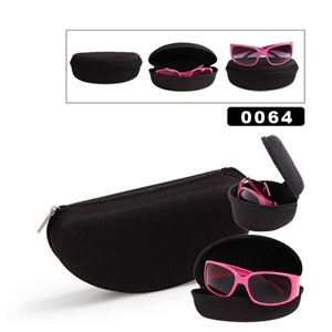 Soft cases are nice for keeping most sizes of sunglasses safe