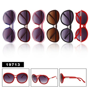 A clean and simple style of wholesale womens sunglasses