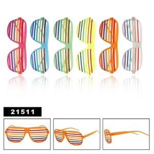 Nice rainbow style of wholesale shutter shades