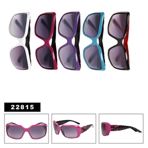 Charming bow and big lens style of wholesale fashion sunglasses