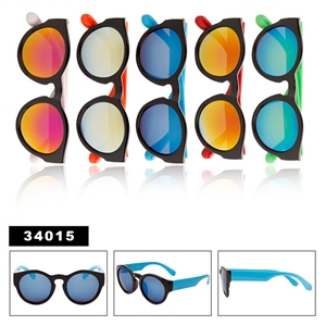 Wholesale Mirrored Big Lens Sunglasses