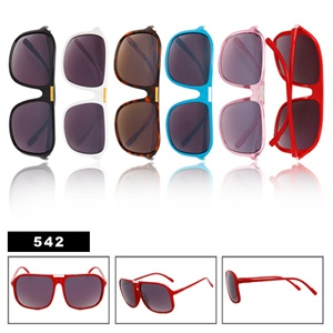 Trendy style of wholesale aviator sunglasses