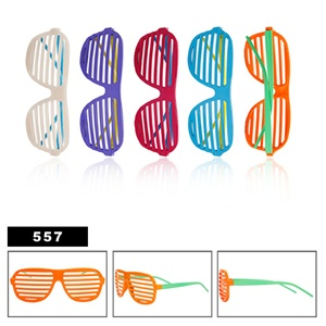 Classic retro style of shutter shades wholesale
