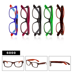 Clear Lenses Wayfarers 6000