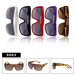 One Piece Lens Sunglasses 6003