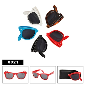 Fold-Up Wayfarer Sunglasses 6021