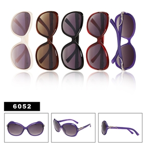 Rhinestone Sunglasses for Ladies 6052