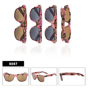 Pink Camo Sunglasses for Ladies