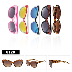 Retro Cat Eye Sunglasses - 6120