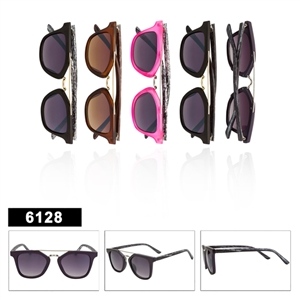 Hipster Fashion Sunglasses - 6128