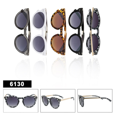 Retro Sunglasses - 6130