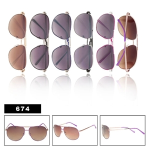 Aviators Wholesale Sunglasses-674