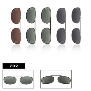 Polarized Clip On Sunglasses-702