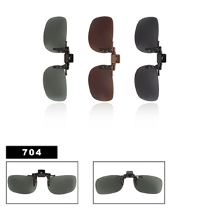 Wholesale Polarized Clip On Sunglasses 704