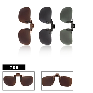Wholesale Polarized Clip On Sunglasses 705