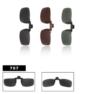 Polarized Clip On Sunglasses 707