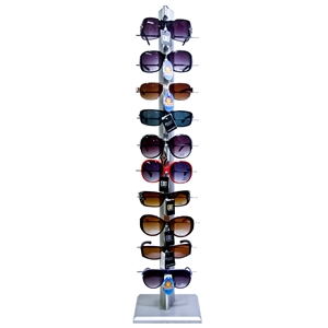 Sunglass Display Rack Holds 10 Pair