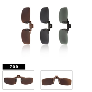Polarized Clip On Sunglasses 709