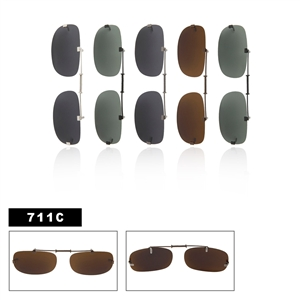 Polarized Clip Ons Slide Style 711C