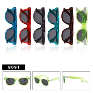 Clear Color Wayfarer Sunglasses