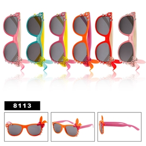 Cute Wayfarers with Bunny EarsWholesale Childrens Wayfarers with Bows
