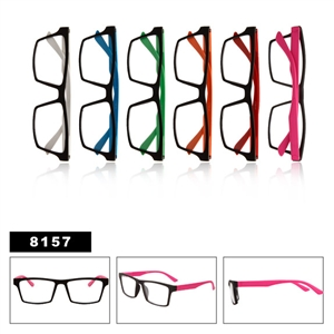 Clear Lenses Wayfarers 8157