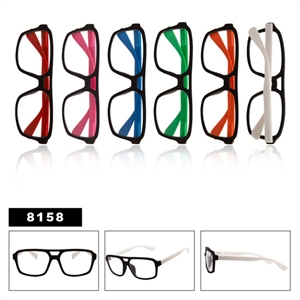 Clear Lenses Wayfarers 8158