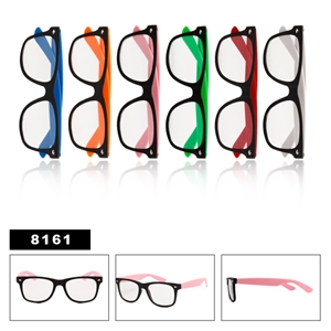 Clear Lenses Wayfarers 8161