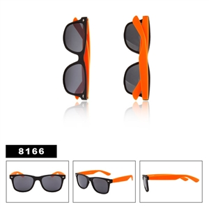 Matte Black with Orange Wayfarers Wholesale