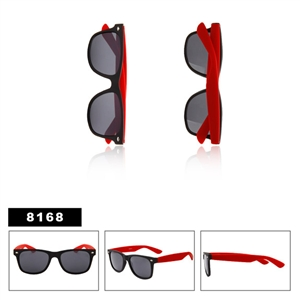 Matte Black with Red Wayfarers Wholesale