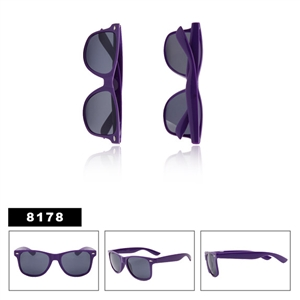 Wholesale Purple Wayfarer Sunglasses